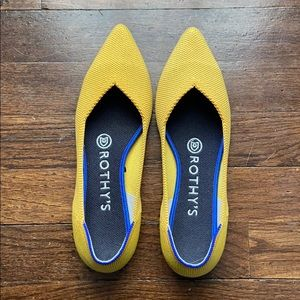 """Rothy's """"The Point"""" flat 